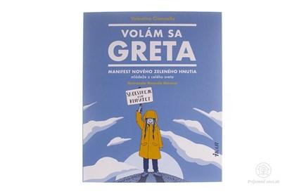 Obrázok pre výrobcu Volám sa Gréta - kniha