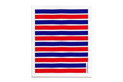 Obrázok pre výrobcu Hubka - pásiky modro-červené