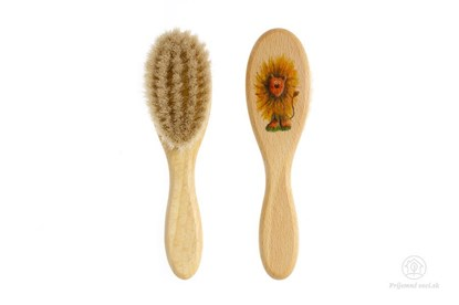 Obrázok pre výrobcu Kefka na vlasy pre novorodencov - lev