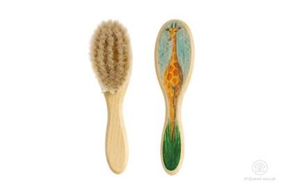 Obrázok pre výrobcu Kefka na vlasy pre deti - žirafa