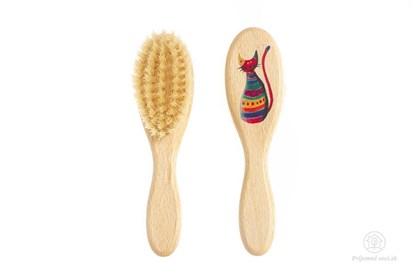 Obrázok pre výrobcu Kefka na vlasy pre deti - mačička