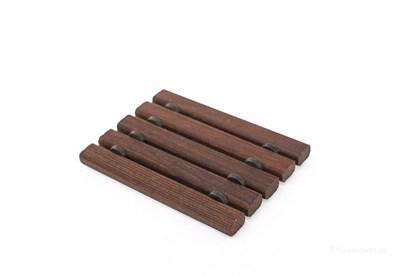 Obrázok pre výrobcu Drevená mydelnička - termodrevo - hranolčeky