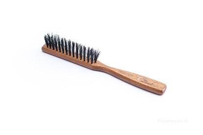 Obrázok pre výrobcu Buková kefa na vlasy s diviačími štetinami - 3-radová