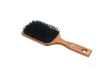 Obrázok pre výrobcu Buková pneu kefa na vlasy s diviačími štetinami - 13-radová