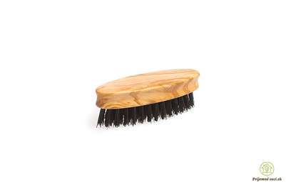 Obrázok pre výrobcu Kefa na bradu a fúzy z olivového dreva