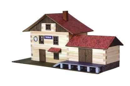 Obrázok pre výrobcu Walachia - zlepovacia stavebnica - vlaková stanica