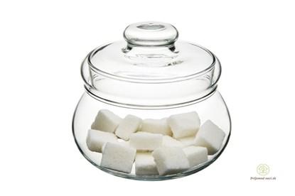 Obrázok pre výrobcu Sklenená cukornička-medovnička