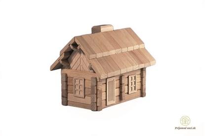 Obrázok pre výrobcu Drevená stavebnica Archaprogram - koliba