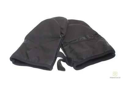 Obrázok pre výrobcu Čierne kožené chňapky - 2ks