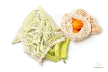 Obrázok pre výrobcu Sieťové vrecká na ovocie a zeleninu MS - 2ks