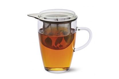 """Obrázok pre výrobcu Sklenený hrnček so sitkom Simax - """"tea 4 one"""""""
