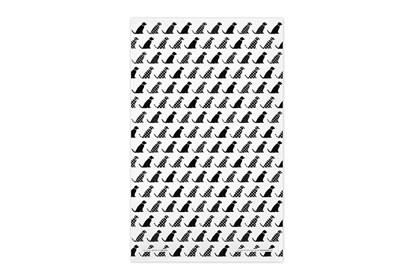 Obrázok pre výrobcu Utierka – psíky čierne