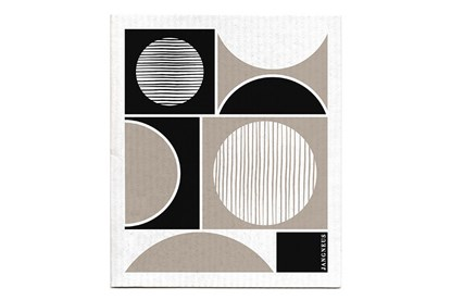 Obrázok pre výrobcu Hubka - kruhy čierne