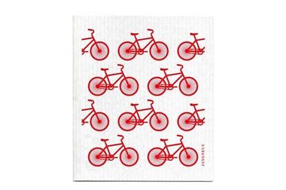 Obrázok pre výrobcu Hubka - malé bicykle červené