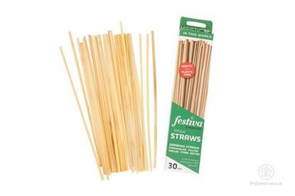 Obrázok pre výrobcu Slamky zo pšenice (30ks)
