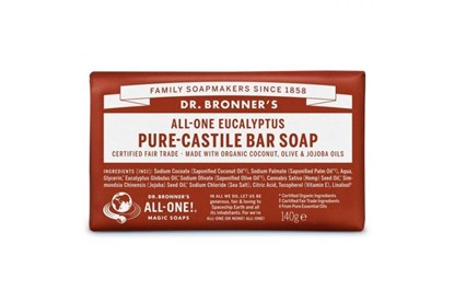 Obrázok pre výrobcu Kastílske mydlo Dr. Bronner´s - eukalyptus