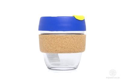 Obrázok pre výrobcu KeepCup S - tyrkysový s korkovým úchytom