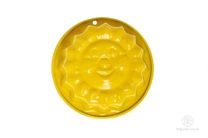 Obrázok pre výrobcu Kovová formička do piesku - žlté slniečko