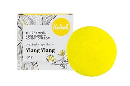 Obrázok pre výrobcu Tuhý šampón Kvitok - ylang ylang 50g