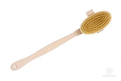 Obrázok pre výrobcu Buková masážna kefa s rúčkou