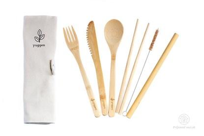 Obrázok pre výrobcu Bambusový príborový set Yuggen (6-dielny)