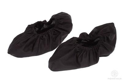 Obrázok pre výrobcu Látkové návleky na topánky - čierne