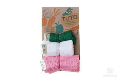 Obrázok pre výrobcu Sieťové vrecká na potraviny TUTO - trojbalenie