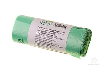 Obrázok pre výrobcu Kompostovateľné vrecia na odpad Biobag - 125l - 10ks