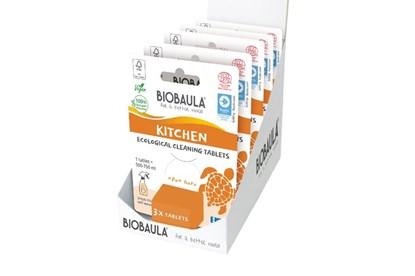 Obrázok pre výrobcu Čistiaci prostriedok Biobaula - tableta 3ks - kuchyňa