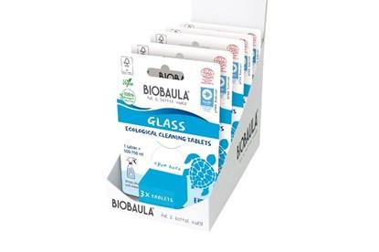 Obrázok pre výrobcu Čistiaci prostriedok Biobaula - tableta 3ks - sklo