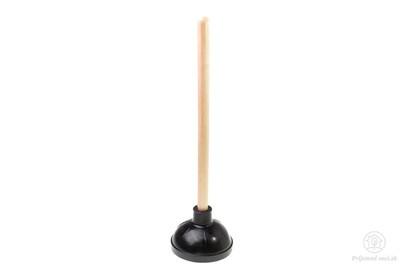 Obrázok pre výrobcu Gumený zvon na čistenie WC - dlhý