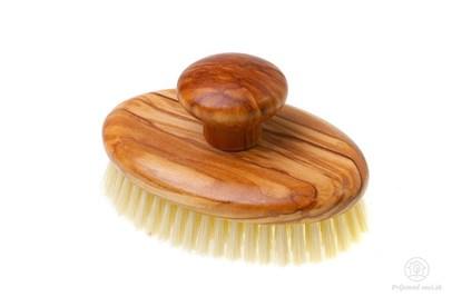 Obrázok pre výrobcu Masážna kefa - olivové drevo a prírodné štetiny