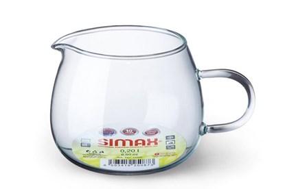 Obrázok pre výrobcu Sklenená nádobka na mlieko Simax - 250ml