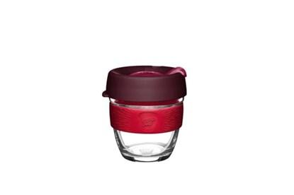 Obrázok pre výrobcu KeepCup S - bordový s červeným úchytom